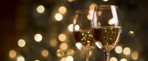 WINE CHRISTMAS TABLE