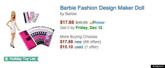 white barbie