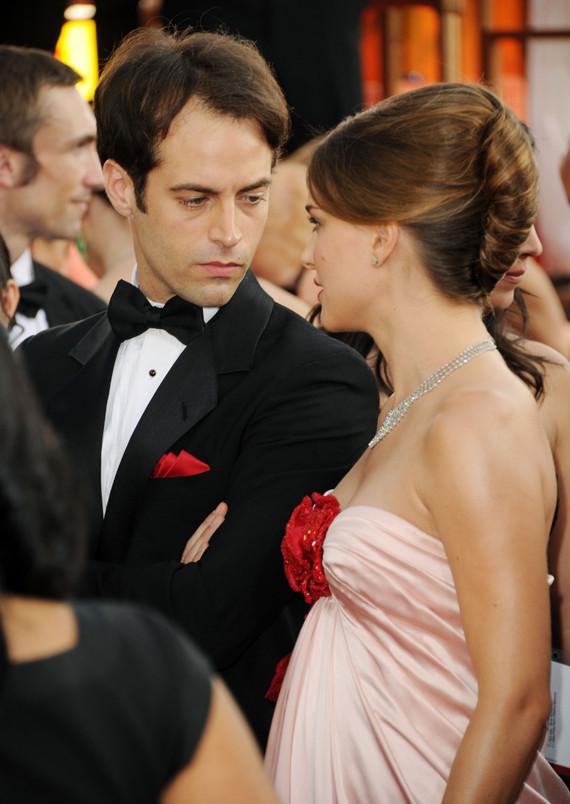 Natalie Portman: Golden Globes Baby Bump With Fiance ... натали портман