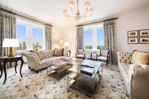 pierre hotel living room