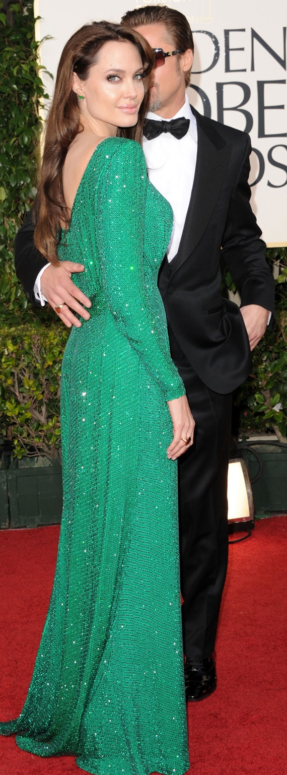 Brad Pitt & Angelina Jolie At The Golden Globes (PHOTOS ...