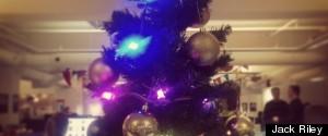 CHARTBEAT CHRISTMAS TREE
