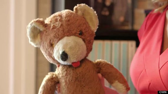 melissa francis gift from robin williams bear