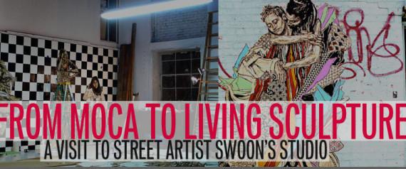 STREET ARTIST SWOON