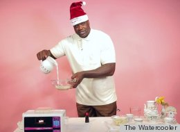 Watch Shaquille O'Neal Use An Easy-Bake Oven Like An All-Star