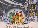 These Adorable Vintage Christmas Cards Remind Us How The Holidays Used To Be