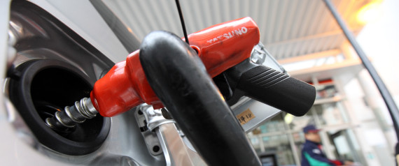 GAS STATION JAPAN CAR