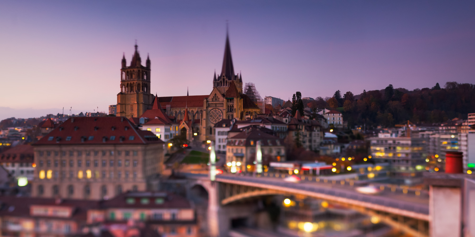 Festive winter breaks in lausanne switzerland huffpost uk for O buro lausanne