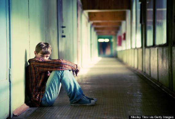 teen boy depressed