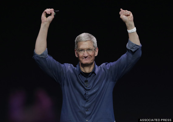 apple watch wrist