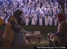 1,039-Person Nativity Scene Reportedly Breaks World Record
