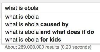 ebola google