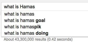 hamas google