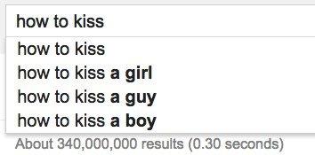 how kiss google
