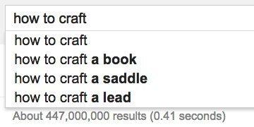 how craft google