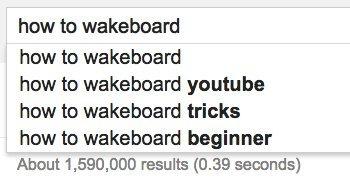 wakeboard google