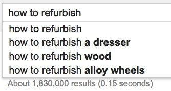 refurbish google