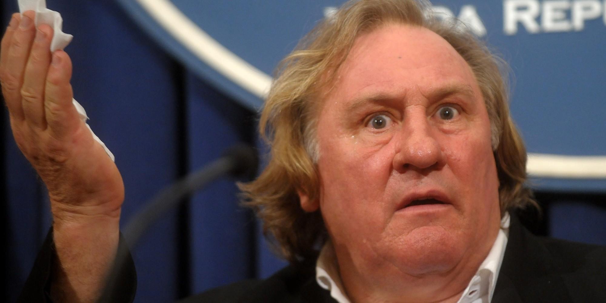Gerard Depardieu 'Shot...