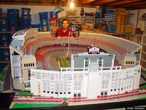 Ohio State Prof Recreates School's Stadium Out Of Lego ...