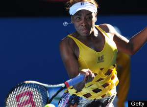 Venus Williams Australian Open Outfit