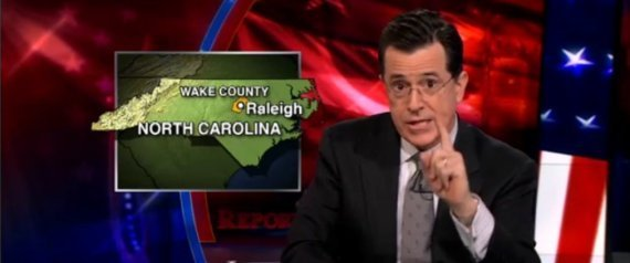 Stephen Colbert Wake County