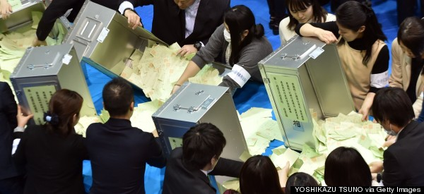 Japan's Election Sees A Landslide Victory For Ruling Party