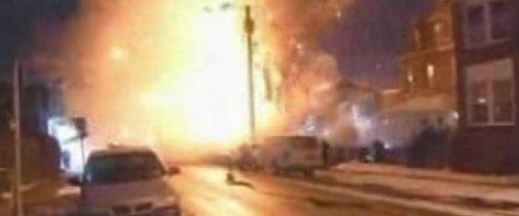 PHILADELPHIA GAS EXPLOSION