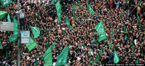Hamas Stages Military Rally To Mark Anniversary