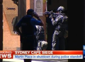 Australian hostages held in cafe