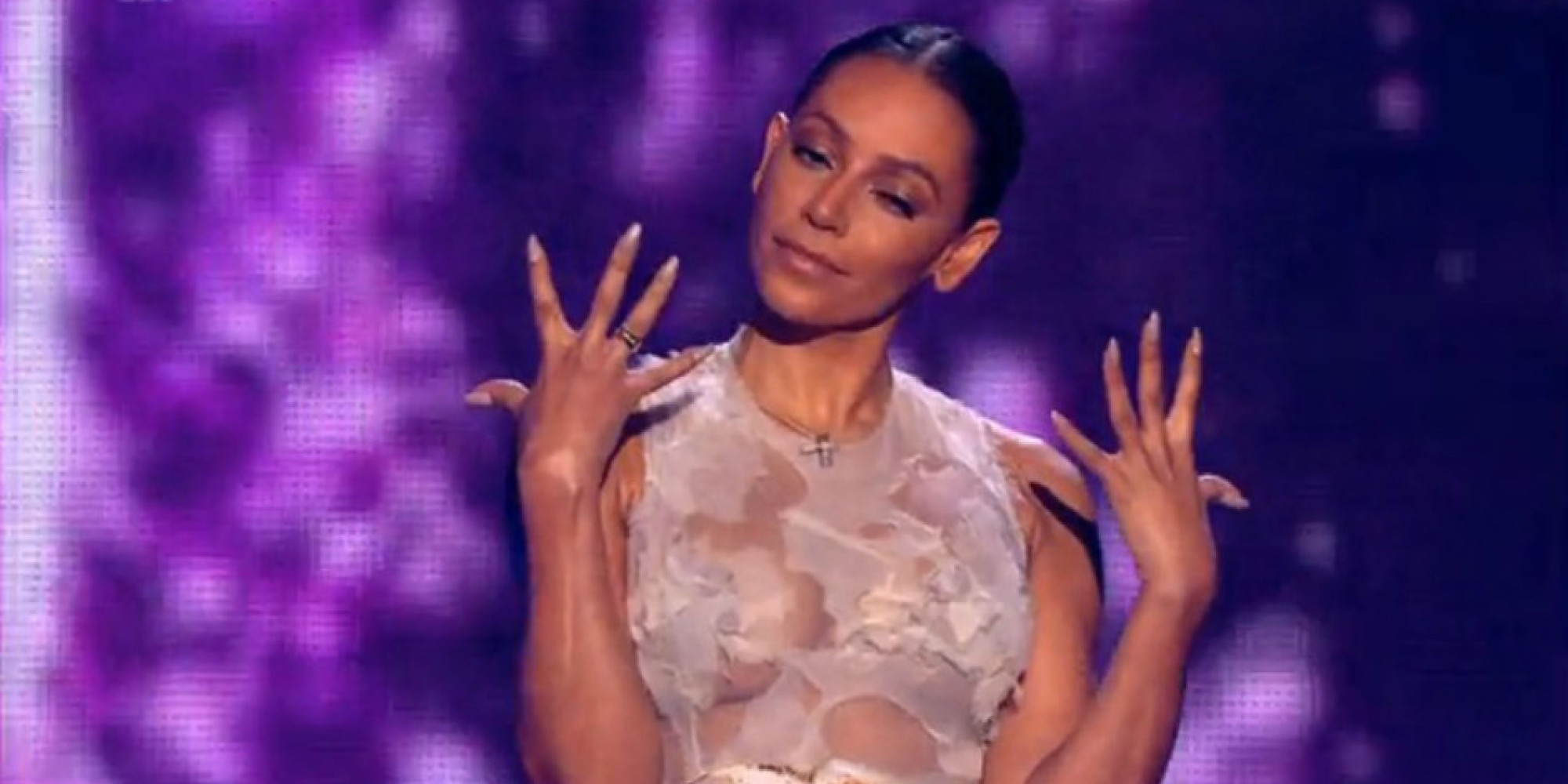 Mel B Forgets Her Wedding Ring As She Returns For X