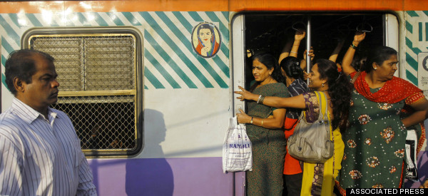 ladies compartment india