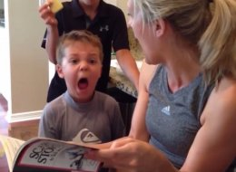 Little Boy Has Perfectly Timed Reaction To Scary Story