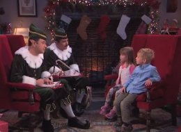 Jimmy Kimmel Interviews Kids For Santa, Ends Up Getting Interrogated Himself