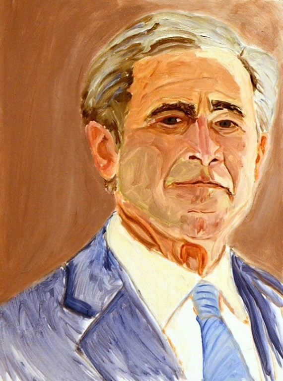 George W Bush S Pearls Of Wisdom On Painting Huffpost