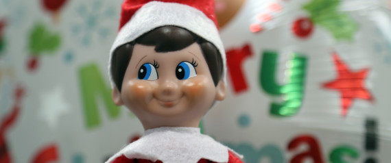 Elf on the shelf how this tradition harms your kids for Elf on the shelf balloon ride