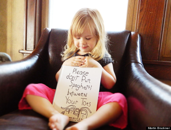 Dad Quotes From Daughter Tumblr: Dad Illustrates His Kid's Hilarious Quotes In 'Spaghetti