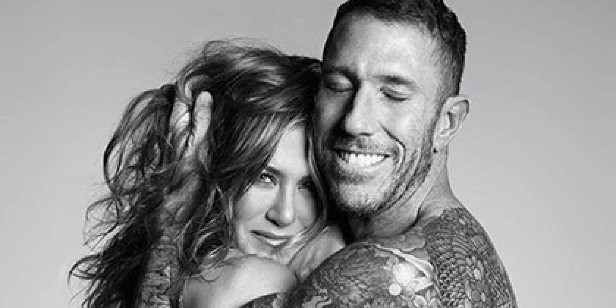 Jennifer Aniston Goes Topless For Allure With Hairstyist