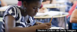 BLACK TEENS IN CLASS