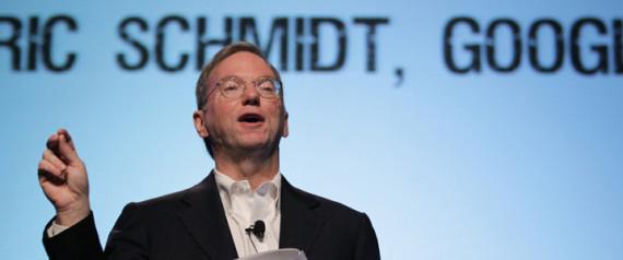 GOOGLE CEO ERIC SCHMIDT LARRY PAGE