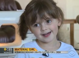 4-Year-Old J. Crew Designer Talks New Collection On TV