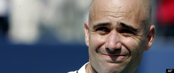 ANDRE AGASSI HALL OF FAME