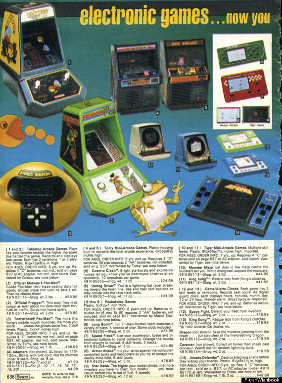Vintage Video Game Ads Make Us Pine For Christmases Past