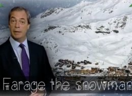 'Farage The Snowman' Is Our Christmas Message For Ukippers
