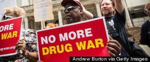 DRUGS PROTEST