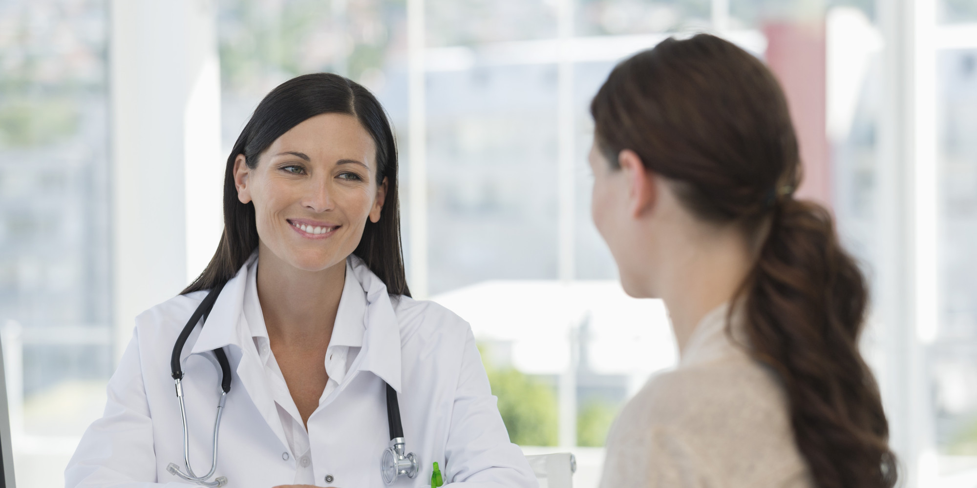 Image result for woman talking to doctor