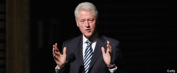 BILL CLINTON LUNCHES CHILDHOOD OBESITY