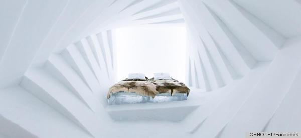 Sweden's Icehotel Makes Us Really Happy And Really Cold