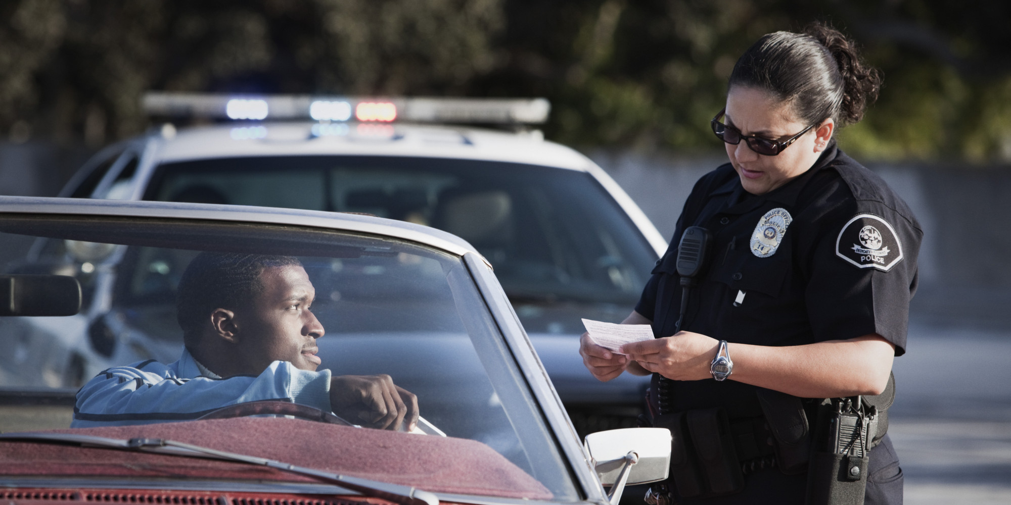 compton mayor aja brown explains the difference between pulling over a