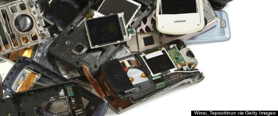 smartphone trash