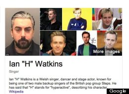 Google Finally Fixes Ian 'H' Watkins Image Search Confusion